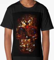 Day of the Dead Death Mask Long T-Shirt