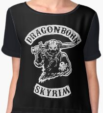 Skyrim - Dragonborn Women's Chiffon Top