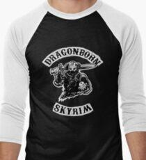 Skyrim - Dragonborn Men's Baseball ¾ T-Shirt