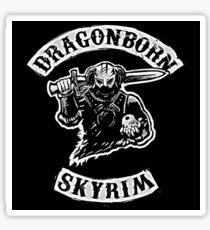 Skyrim - Dragonborn Sticker