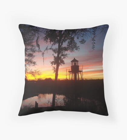 January 2017 and Cory's Lighthouse Throw Pillow