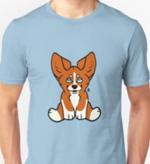 Sitting Corgi Unisex T-Shirt