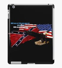 Heritage, Not Hatred Patriotic Eagle iPad Case/Skin