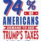 Americans demand trumps taxes by EthosWear
