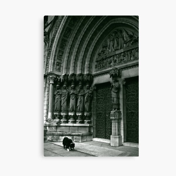 The Keeper Canvas Print