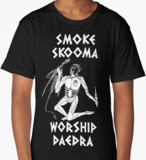 Skyrim - Smoke Skooma Worship Daedra Long T-Shirt
