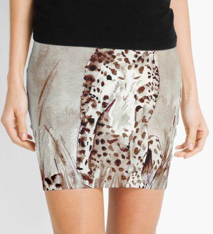 The Cheetah (Acinonyx jubatus)  Mini Skirt