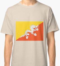 Bhutan Flag Classic T-Shirt