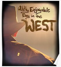 Oddly Enjoyable Day in the West 1 LOGO Poster