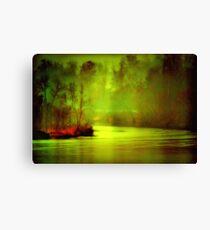 Mystic River Morning Canvas Print