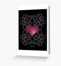 Bubbly Love Greeting Card