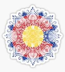 colorado mandala Sticker