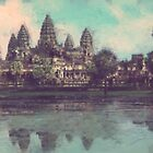 Angkor Wat by Jeff Powers Illustration