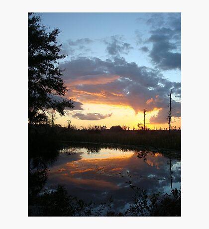 December Sunset 2014 Photographic Print