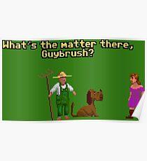 Guybrush? Poster