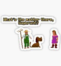 Guybrush? Sticker
