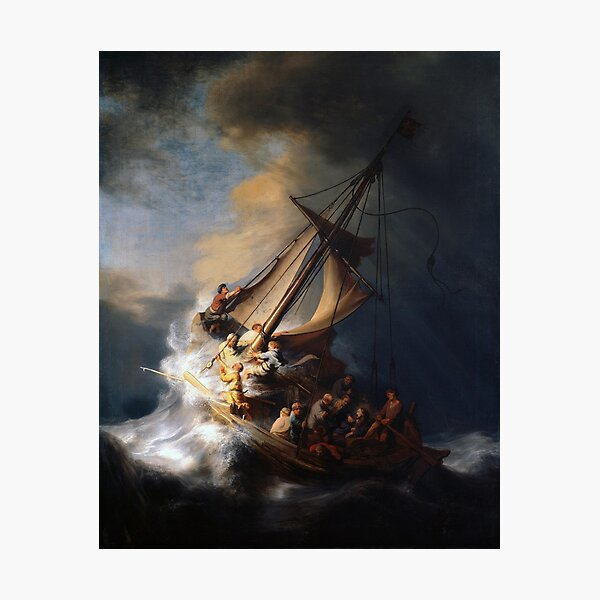 The Storm on the Sea of Galilee Photographic Print