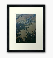 Tidal Creeks  Framed Print