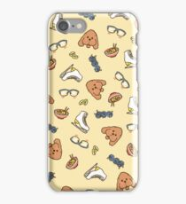 Yuri!!! On Ice Emojis - Yellow  iPhone Case/Skin