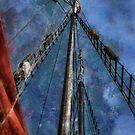 Aboard a tall ship by Celeste Mookherjee