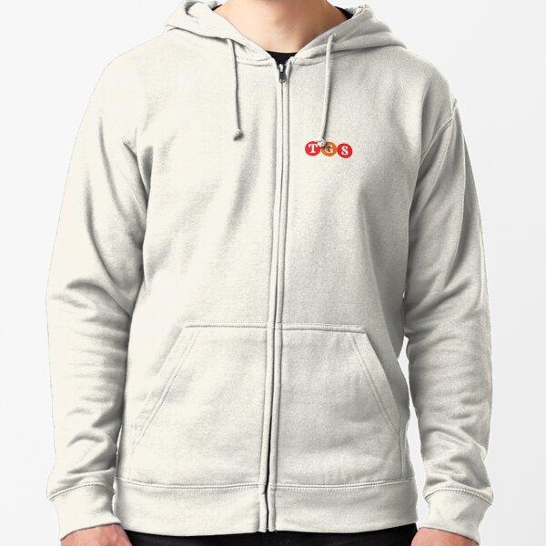 "Logo for ""TGS"" Zipped Hoodie"