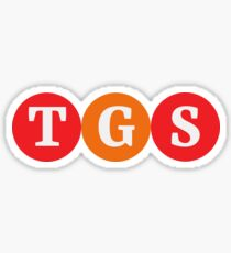 "Logo for ""TGS"" Sticker"