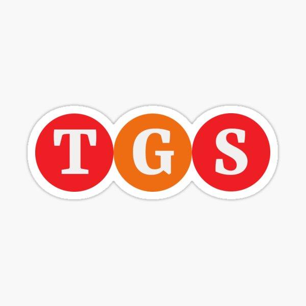 "Logo for ""TGS"" Sticker"