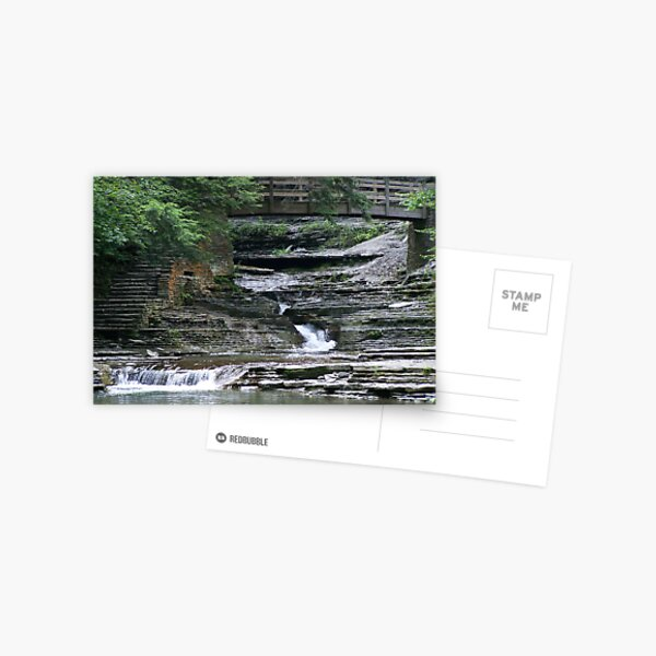 Bridge over Tumbling Waters Postcard