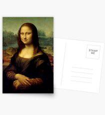 Mona Lisa - Leonardo da Vinci Postcards