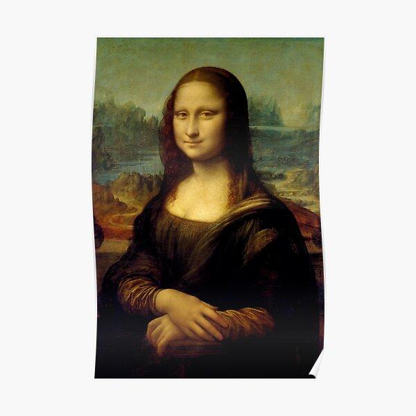 Mona Lisa - Léonard de Vinci Poster