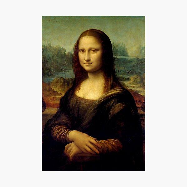 Mona Lisa - Leonardo da Vinci Photographic Print