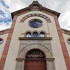 Synagogue of Bergheim by Yair Karelic