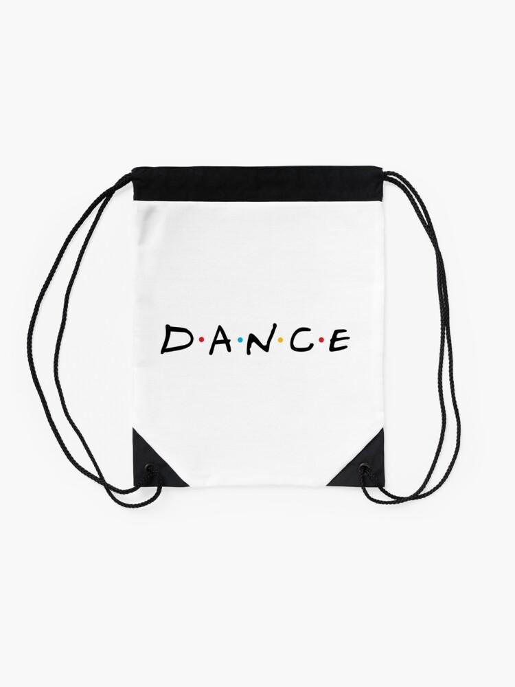 Alternate view of Dance Drawstring Bag