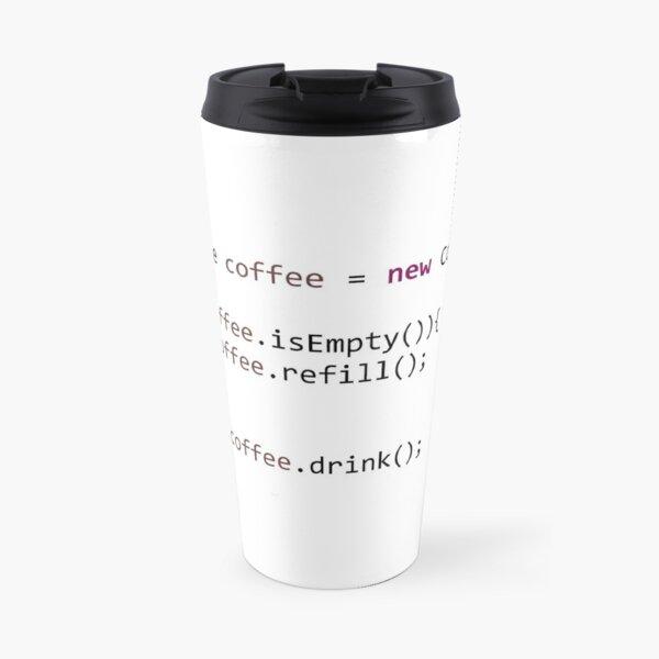 Coffee.java Travel Mug