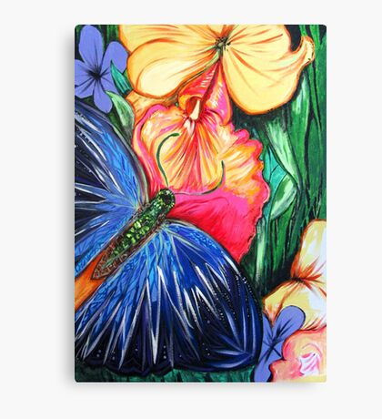 Butterfly Life Canvas Print