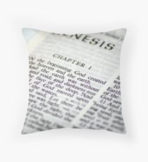 Genesis Throw Pillow