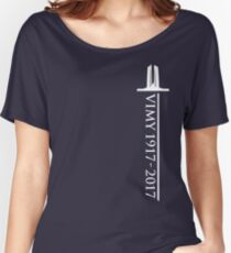 Vimy Memorial Sword Women's Relaxed Fit T-Shirt