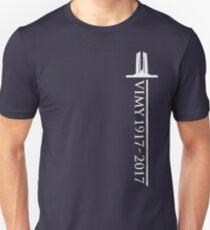 Vimy Memorial Sword T-Shirt