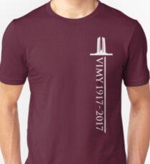 Vimy Memorial Sword Unisex T-Shirt