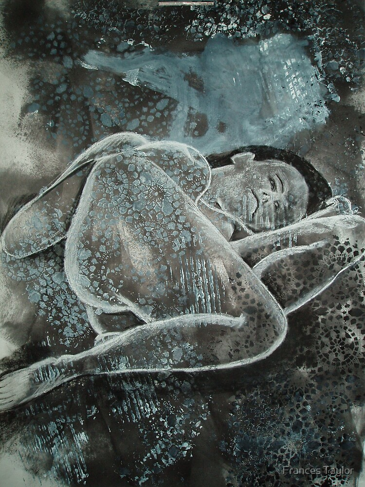 Reclining nude by Frances Taylor