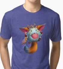Gnar poro league of legends Tri-blend T-Shirt