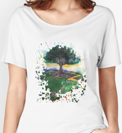 Tree Of Imagination Women's Relaxed Fit T-Shirt