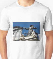 S. Gaetano place in Naples, Italy Unisex T-Shirt