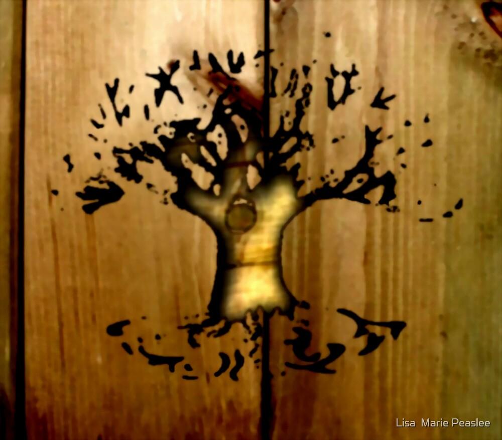 Digital Tree Carving by Lisa  Marie Peaslee