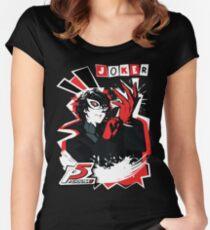 Persona 5 - Joker Women's Fitted Scoop T-Shirt