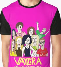 Vaylira and the Lismore Crew Graphic T-Shirt