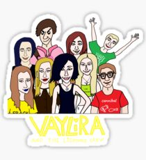 Vaylira and the Lismore Crew Sticker