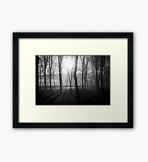N°255: Street photography Black and White Framed Print
