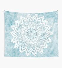 MANDALA SAVANAH LIGHT BLUE Wall Tapestry