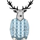 Mr. Deer by Ekaterina Panova